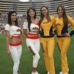 Anfitrionas de Cerveza Cristal en el Estadio