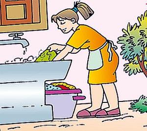 Lavar Trajes de Anfitrionas