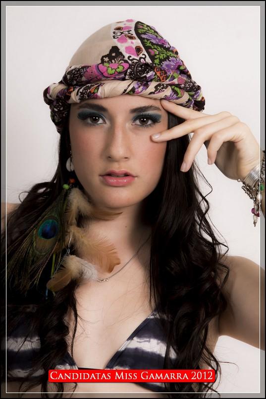 Candidatas Miss gamarra 2012