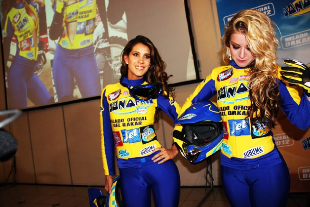 Anfitrionas en Lima