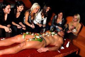 Body Sushi: Bandeja Humana en la Gatronomía
