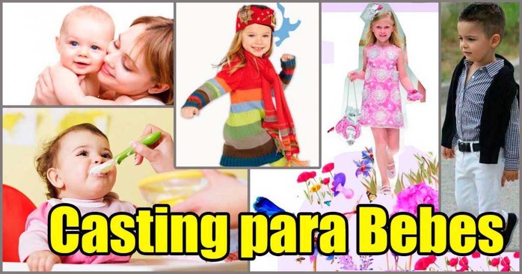 Casting para Bebes Modelos en Lima Perú